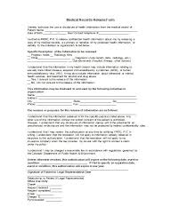 Medical Records Request Letter From Attorney 30 Medical Release Form Templates Template Lab