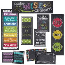Chalk It Up Behavior Clip Chart Mini Bulletin Board Set