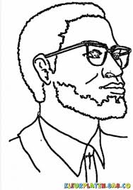 Small Picture Malcolm X Coloring Pages Download Printable Colouring Iopl0 For