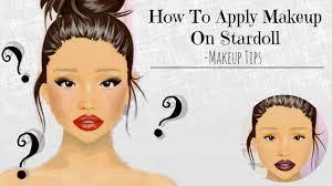 stardoll makeup tutorial how to apply basic tips