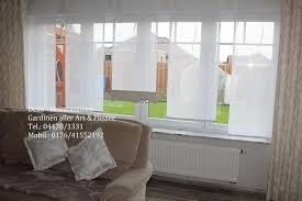Vorhänge Wohnzimmer Großes Fenster Gardinen Ideen Für Große Und