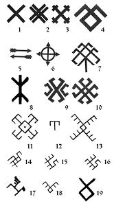 Slavic Symbolism славянские символы и обереги Symbols Ancient