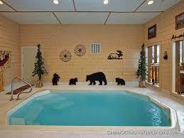 gatlinburg one bedroom cabin with indoor pool. cabins with swimming pool in gatliburg \u0026 pigeon forge gatlinburg one bedroom cabin indoor c