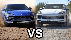 porsche cayenne 2019. 2019 lamborghini urus vs 2018 porsche cayenne - the world\u0027s best suv\u0027s!!