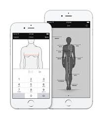 Body Measurement Clothing Measurement App For Easy Storage