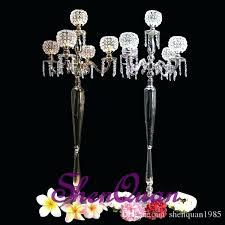 tall chandelier floor lamps bar table light crystal candelabra candle
