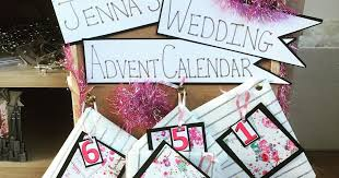I like to think i'm a little classier than sticking the. Wedding Advent Calendar What S Inside Jenna Suth
