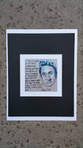 Print Of Johnny Cash Portrait With Quote Johnny Cash Art Johnny Cash Print Music Fine Art Limited Edition Print