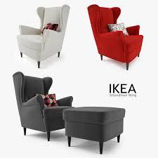 ikea wingback chair