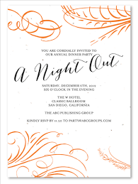 Corporate Holiday Party Invitations ~ A Night Out By Green Business ...