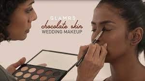 elegant bridal makeup for dark skin