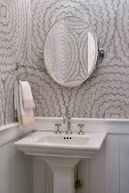 Small powder room design Sinks Powder Room Ideas Elle Decor 40 Stunning Powder Room Ideas Halfbath Decor Design Photos