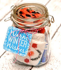 winter survival kit in a jar cute and easy diy gifts in a jar