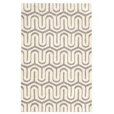 linon home decor geo collection grey ivory 8 ft x 10 ft indoor