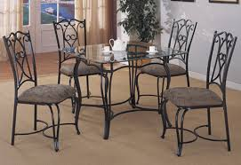 dining chair designpersonalized wrought iron dining room chairs simple themes classic ideas decoration stainless black wrought iron furniture