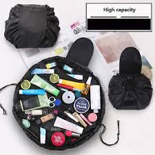 image is loading portability magic travel pouch cosmetic bag makeup bags