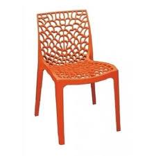 orange plastic chair. Orange Plastic Chair