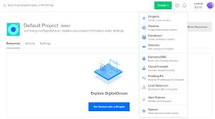 How to Create a Droplet from the DigitalOcean Control Panel ...