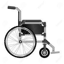車いす設計医療要素のアイコン ベクトル図