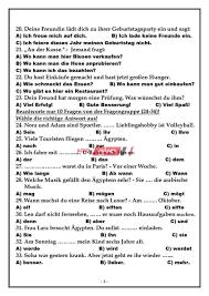 الإجابة النموذجية لامتحان مادة اللغة الألمانية الثانوية العامة 2020 - موقع  صباح مصر