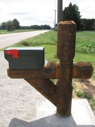 wood mailbox posts. Custom Mailbox Post Ideas Wood Posts O