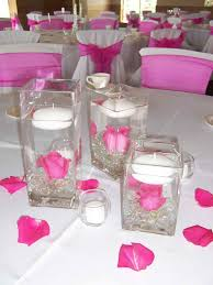 elegant table centerpiece accessories decoration outstanding pink wedding table design and decoration using light pink