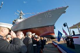 essay an acquisition system to enable american seapower usni news uss rafael peralta christening ceremony at general dynamics bath iron works bath maine on