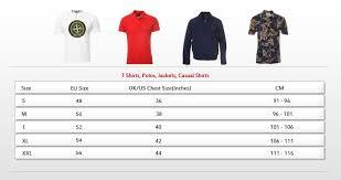Armani Jeans Mens Size Chart Armani Jeans T Shirt Size Chart
