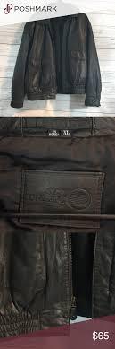 men s xl sea dream leather jacket perfect shape men s size xl leather jacket by sea
