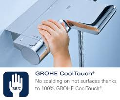 grohe 1000 thermostatic bath shower mixer. thermostat bath shower mixer valve - 19446000 additional image for qs-v57753 grohe spa 1000 thermostatic