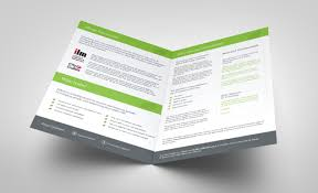Brochures Templates Free Download Folded Leaflet Templates Free Download Face Media Group