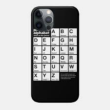 It was devised by the international phonetic association in the late 19th. Funny Phonetic Alphabet Chart When On The Phone Phonetic Phone Case Teepublic