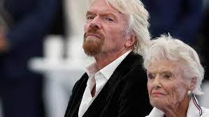 Erfolgs-Unternehmer Richard Branson trauert um seine Mutter Eve