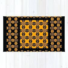 black grey orange rug ethnic pattern and by 1 rugs black and orange gy rug grey