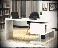 home office furniture collection home. Desks Home Office Furniture Stunning Modern With Unique White Glossy Desk Best Style Cool Collection 0