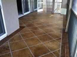 Decorative Concrete Overlay Acid Stained Concrete Flooring Lake Ozark