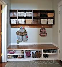 diy shoe storage bench thanks for all the lovely feedback on our new mudroom we shared