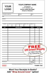 Sales Receipt Books Design Your Own Online Lighthouse Printing