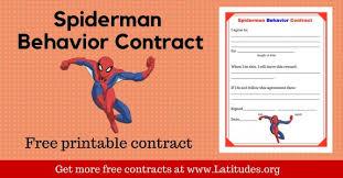 Spiderman Reward Chart Free Printable Behavior Charts For Kids Acn Latitudes