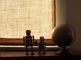 3 Ways And 23 Ideas To Cover French Door Windows  ShelternessBurlap Window Blinds