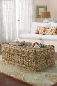 furniture wicker storage trunk