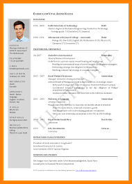 5 Cv Sample For Job Application Pdf Theorynpractice Documents