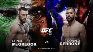 UFC 246 Conor McGregor vs Donald Cerrone Betting Preview