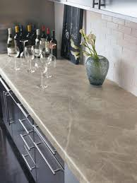 i believe this worktop is solid surface but it looks a lot like quartzite