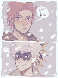 Why is katsuki bakugou such a jerk? Bakugou Can Smile By Clairrr On Deviantart