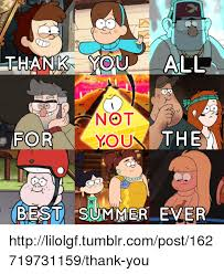 Summer Thank You Thank You All Not You For The Best Summer Ever