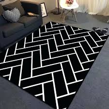 geometric area rugs modern black white chevron striped plaid big carpet geometric area rugs and carpet