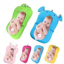 baby bath tub newborn baby foldable baby bath tub pad chair shelf newborn bathtub seat infant support cushion mat bath mat sad frog