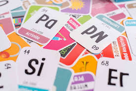 118 Kids Periodic Table of Elements Flash Cards - Science for Kids ...