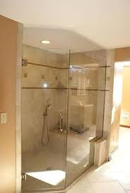 Glass Shower Wall  Angled